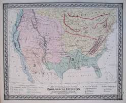 map of the united states showing states and cities antique maps and charts original vintage historical