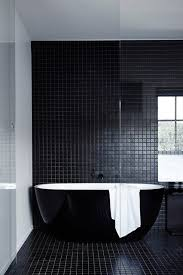 black bathrooms ideas best 25 black bathrooms ideas on black tiles black