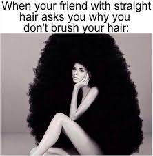 Frizzy Hair Meme - 22 memes that are way too real for people with curly hair