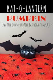 easy halloween decorations black pumpkin bats scraplifters