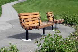 series b benches custom park u0026 leisure