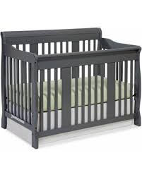 Storkcraft Convertible Crib Amazing Deal Storkcraft Tuscany 4 In 1 Convertible Crib Gray