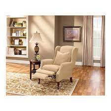 Armchair Slipcovers Sure Fit Stretch Pique Wing Chair Recliner Slipcover Hayneedle