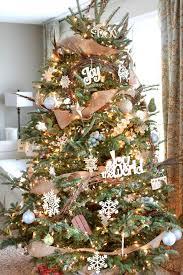 burlap christmas tree christmas tree