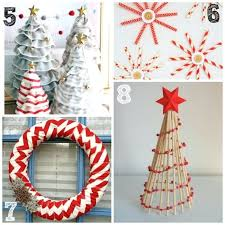 Xmas Office Decorations Diy Christmas Decorations With Office Supplies Easy Office
