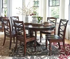 ashley furniture dining table set ashley furniture porter 7 piece round dining table set northeast