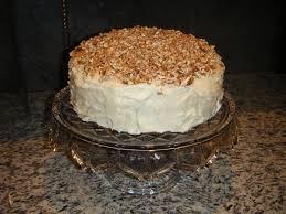 tasty paula deen carrot cake recipes on punch bowl