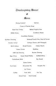 thanksgiving thanksgiving dinner menu philadelphia and