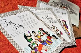 unique indian wedding cards the top 5 best blogs on indian wedding card