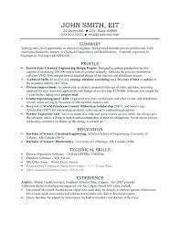 sample chemical engineering resume sample engineering resume cover