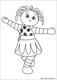 charming pictures night garden colouring pages 1