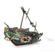 buy aquarium decoration oj 3 sunken ship ornament tank gift boat