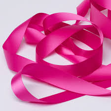 pink satin ribbon fuchsia pink satin ribbon