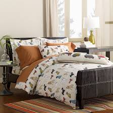 themed bed sheets colorful canine themed bedding the barkitect