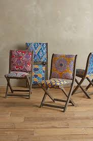 Folding Chair Fabric Best 25 Folding Dining Chairs Ideas On Pinterest Upholstered