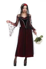 Ghost Bride Halloween Costume Long Dress Queen Halloween Witch Costume Women Gothic