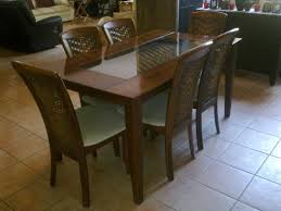 Frosted Glass Dining Table And Chairs Rattan Dining Set Cheap Dining Table Half Glass Top Table Advice