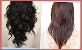 pictures of v shaped hairstyles v shaped long hairstyles hair and beauty scope intended for v