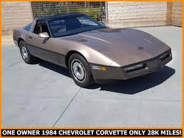 1984 chevrolet corvette for sale 1984 chevrolet c4 corvette one owner all original california car