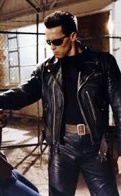 Terminator 2 Halloween Costume Arnold Terminator 2 Jacket Judgment Jacket