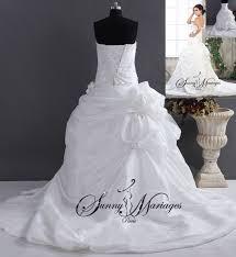 robe blanche mariage robe de mariee bustier princesse robe blanche de mariage 11