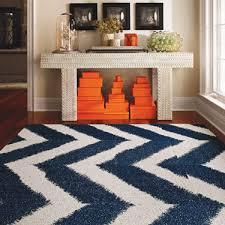 orange and white chevron rug navy and orange area rug navy blue
