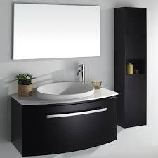 black bathroom cabinet ideas bold black bathroom vanity for with enchanting look