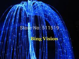 fiber optic light strands diy sparkle fiber optic lighting curtain 2000 strands 0 75mm 50w