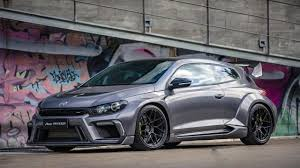 volkswagen scirocco 2017 widebody vw scirocco r tuned to 430hp by china u0027s aspec