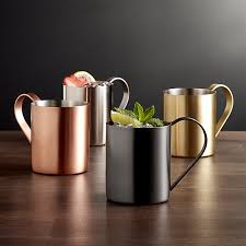 moscow mule mugs moscow mule mugs crate and barrel