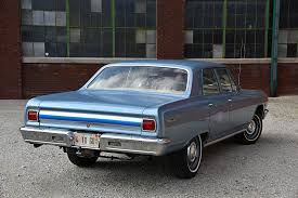 1965 chevrolet chevelle 300 l79 looks like a taxicab but runs like