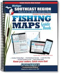 Maps Of Macomb County Michigan And Locals And Locations by Southeast Michigan Fishing Map Guide Sportsman U0027s Connection