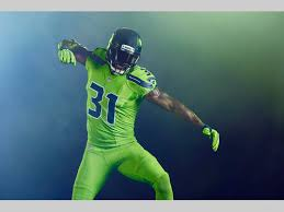nfl color rush seahawks introduce action green uniform seattle