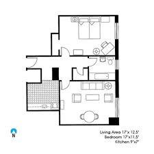 one bedroom floor plan mcmanus one bedroom northwestern affairs