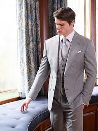 mens light gray 3 piece suit michael andrews bespoke cool wool custom light grey 3 piece suit