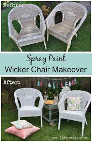 Restore Wicker Patio Furniture - best 25 spray paint wicker ideas on pinterest spray painted
