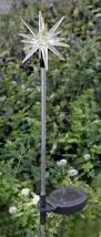 Solar Stake Garden Lights - color changing solar led lights starburst solar light stakes set