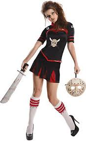Halloween Cheerleader Costumes Kids Horror Film Costumes Kids Adults Party