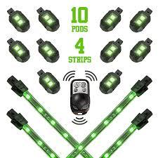 Led Strobe Light Strips by Premium 10 Compact Pod 4 Flexible Strip Accent Light Wireless