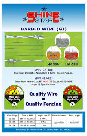 barbed wire fencing contractors barbed wire weight per meter