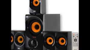 powered home theater subwoofer acoustic audio aa5170 home theater 5 1 bluetooth speaker system