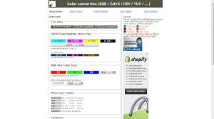 Color Image Online by Free Online Tools To Convert Rgb To Cmyk Webriti