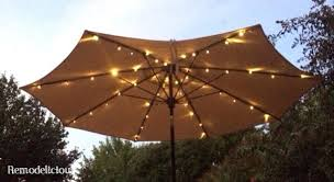 Lighted Patio Umbrella Lighted Outdoor Umbrella Solar Powered Lighted Patio Umbrella