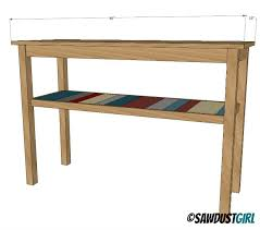 Diy Console Table Plans by 315 Best Images About Woodworking Ideas On Pinterest Kreg Jig