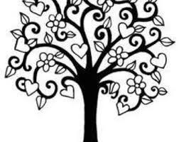 tree vinyl decal etsy