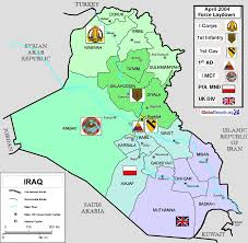 Iraq Map World by Iraq Facilities