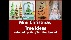 unusual mini christmas tree ideas alternative christmas tree