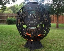 Sphere Fire Pit by Custom Fire Pits Etsy