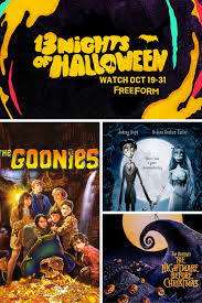 freeform 13 nights of halloween schedule 2016 mooshu jenne