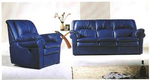 Blue Reclining Sofa by Wholesale Recliner Sofa Made In China 129314